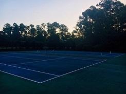 River Sea Plantation Tennis Court