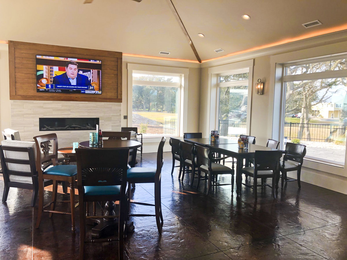 Oak Island and Caswell Beach Clubhouse 1