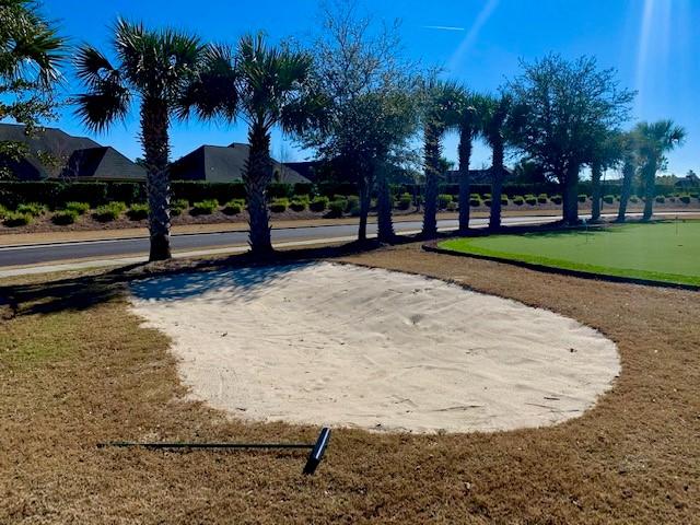 Palmetto Creek Sand trap