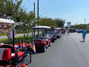 Golf Cart Parade 2
