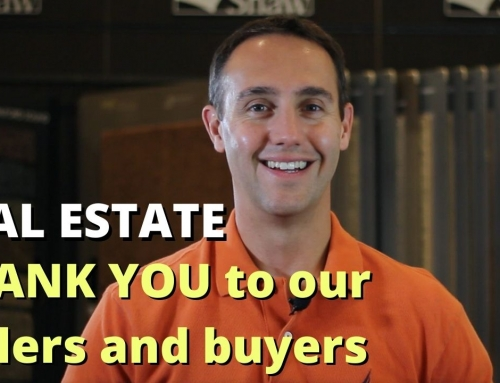 A Big Thank You to Our Sellers and Buyers