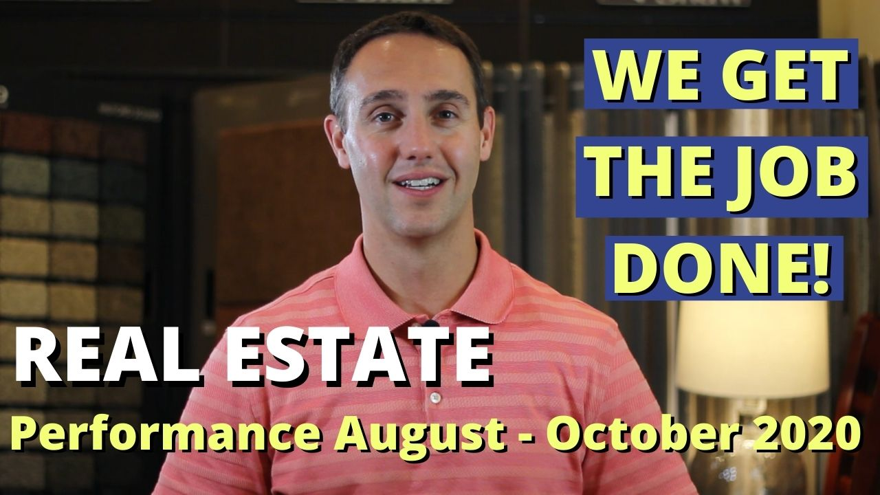 Nolan Formalarie - Real Estate Performance Aug-Oct 2020