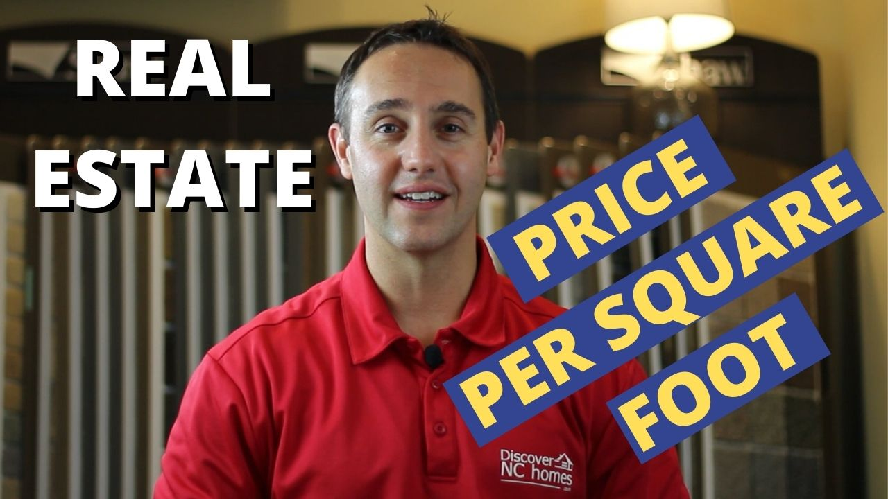 Price per square foot - Real Estate - Discover NC Homes | Nolan Formalarie