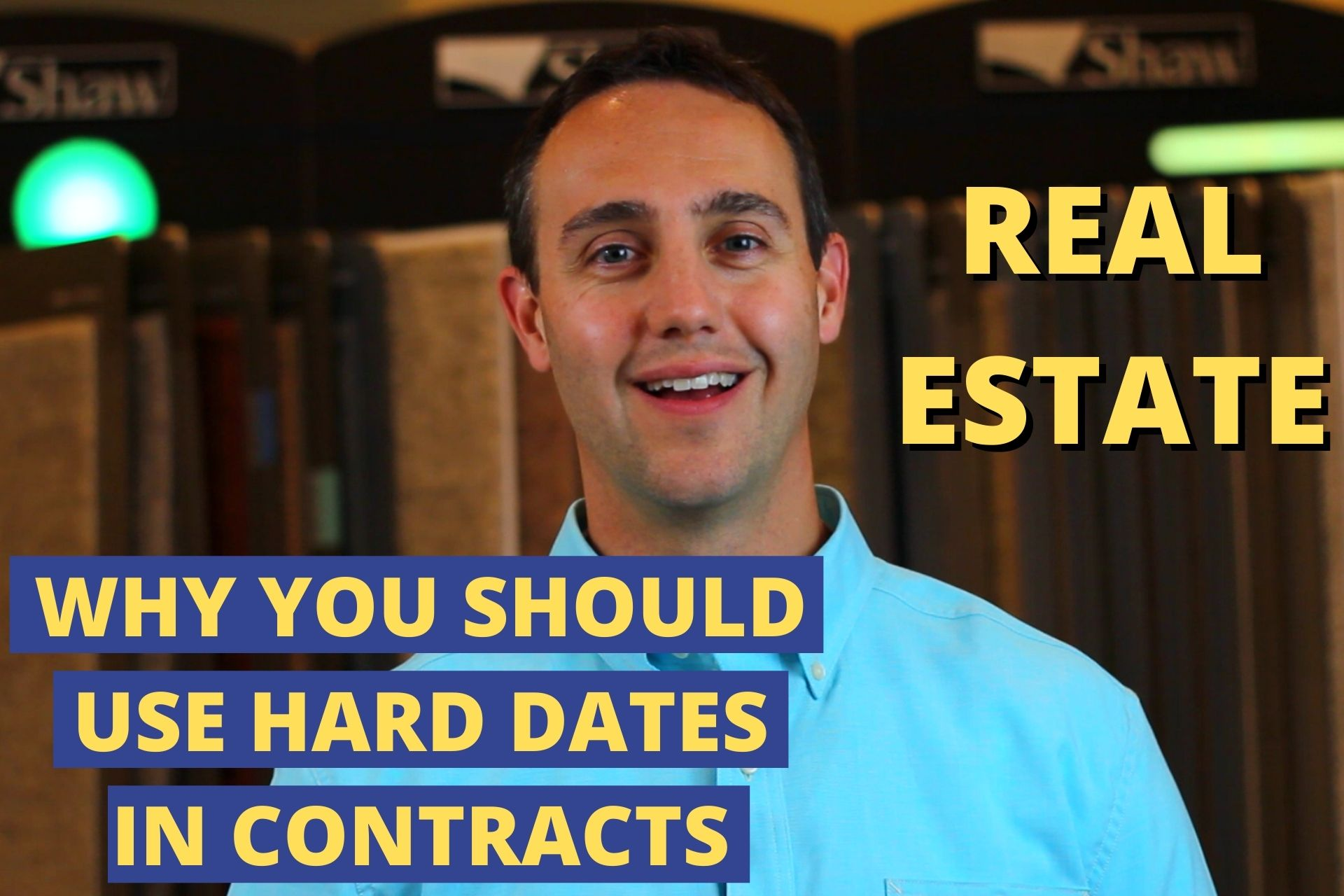 Use hard dates in contracts