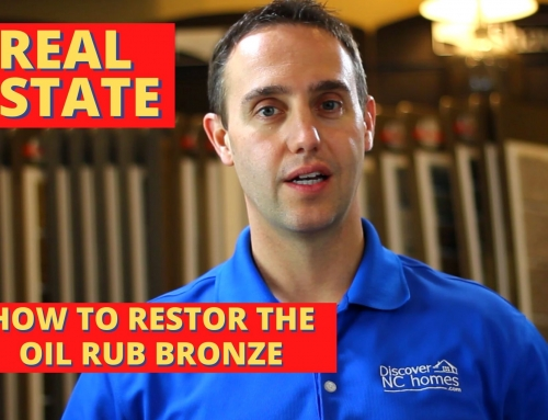 How to restore the oil rubbed bronze