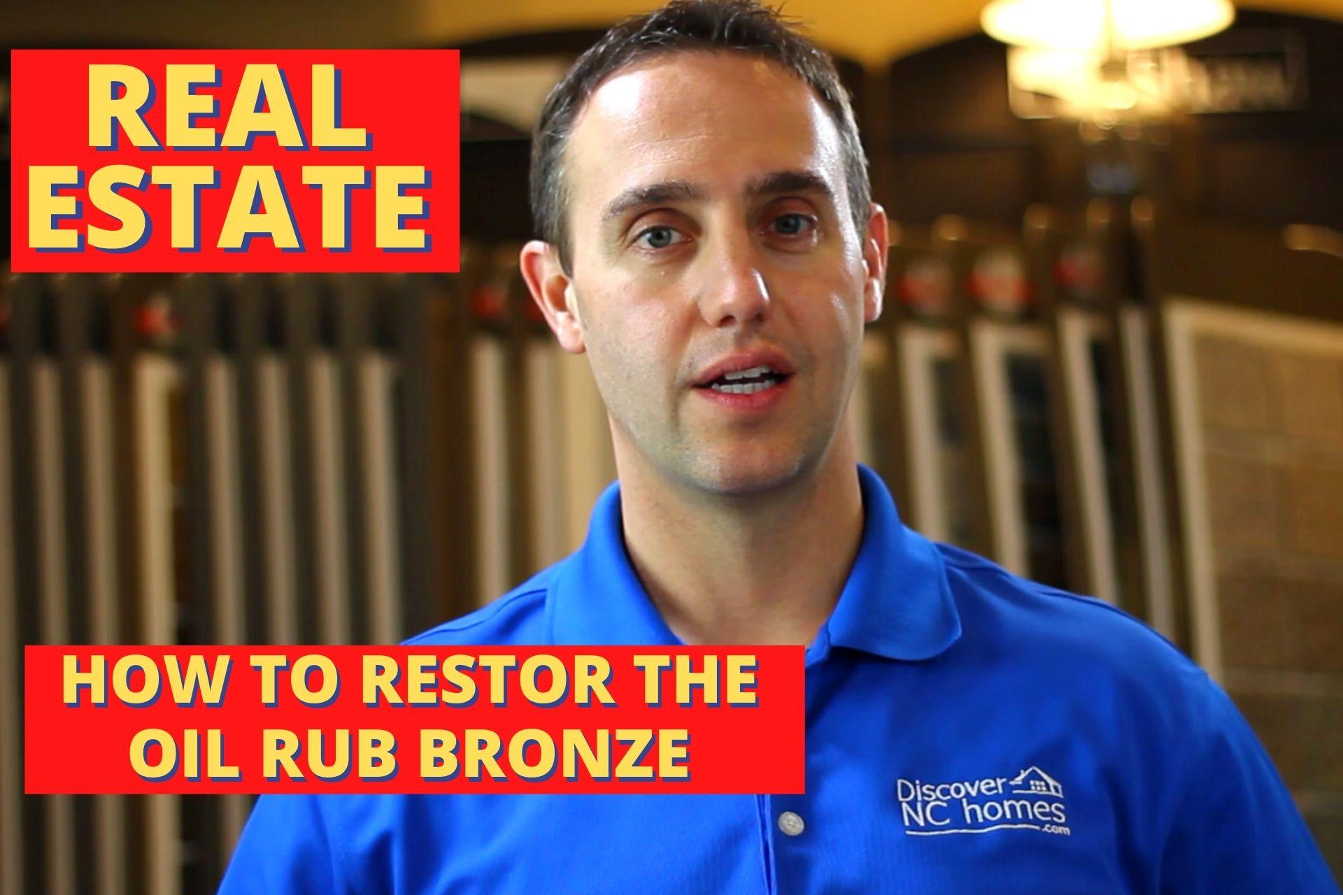 Restore oil rub bronze - Nolan Formalarie