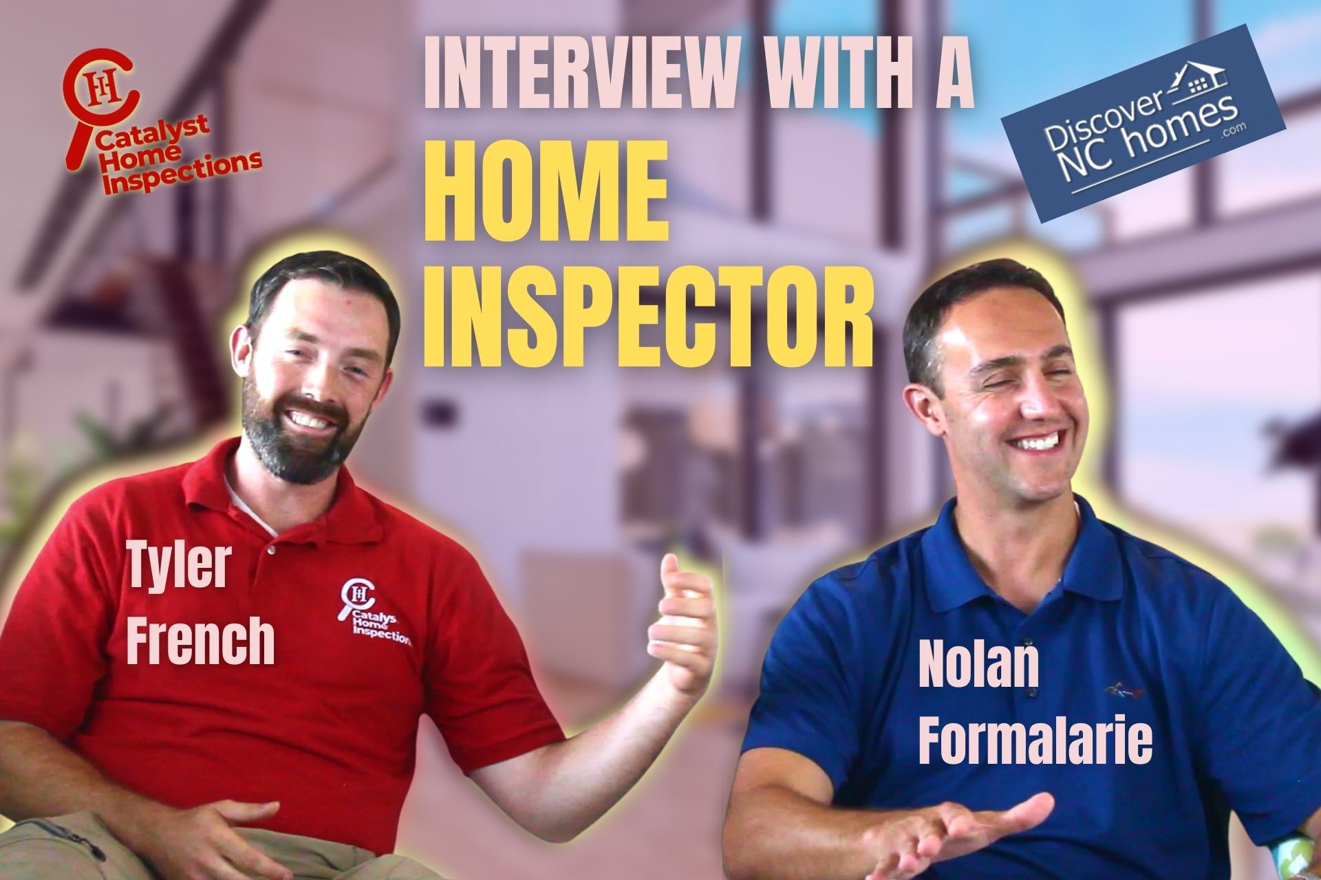 Interview with Tyler French - home inspections