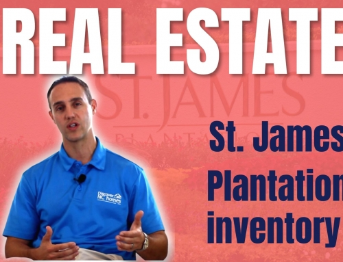Increase in St James Plantation Real Estate Inventory